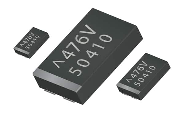 Image of AVX's TCN Series Polymer Low Profile Capacitors Spotlight